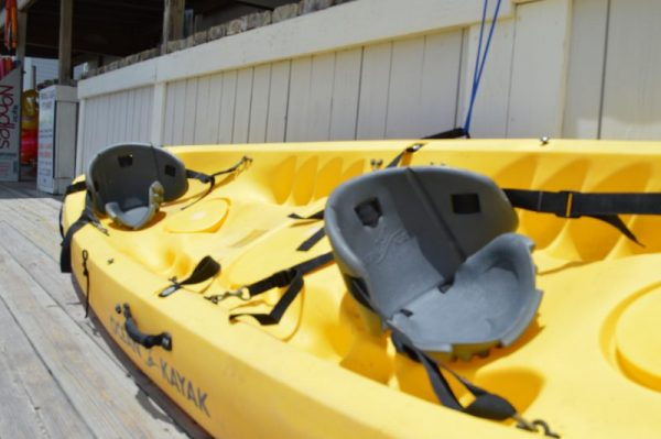 Kayak seats