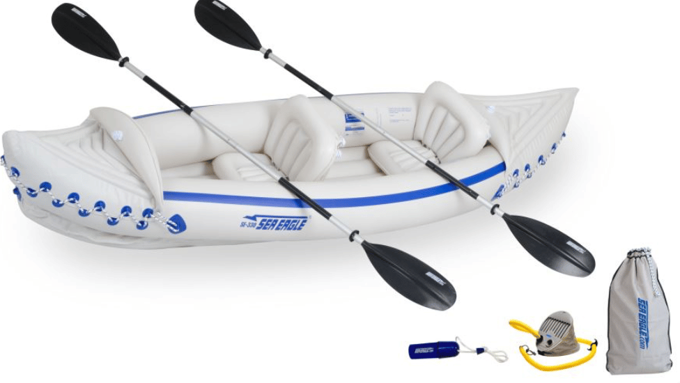 Product image of the Sea Eagle 330 inflatable kayak